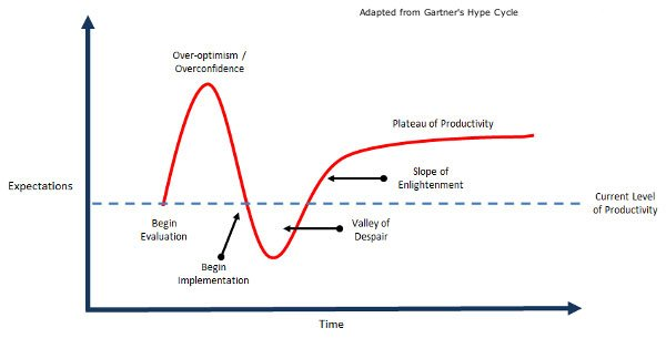 Gartner's Hype Cycle | Process Changes