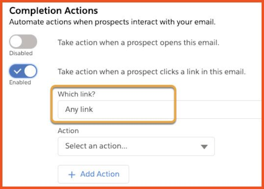 Completion Actions | Salesforce Spring 21 Release